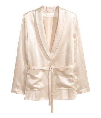 Satin Jacket H&M