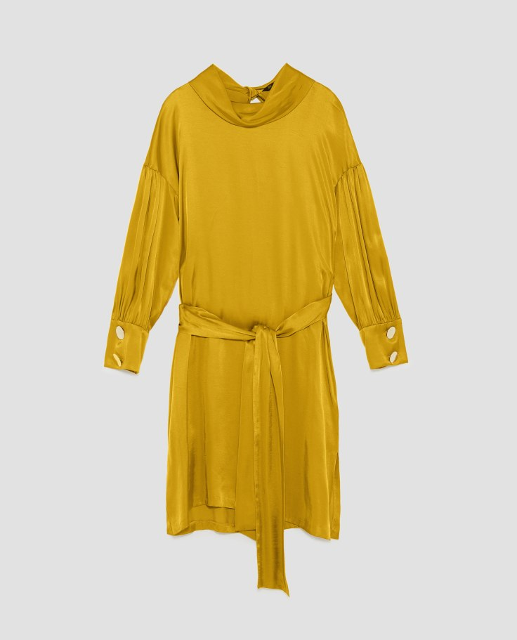 Yellow Satan Dress