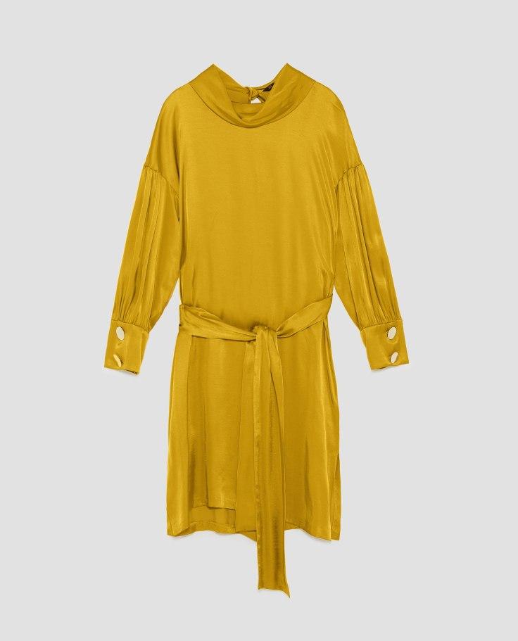 Yellow Satan Dress